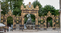 Brunnen am Place Stanislas